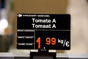 Etiquette de prix | Deltenre & Co